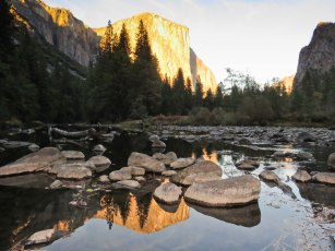 Yosemite National Park Sunset
