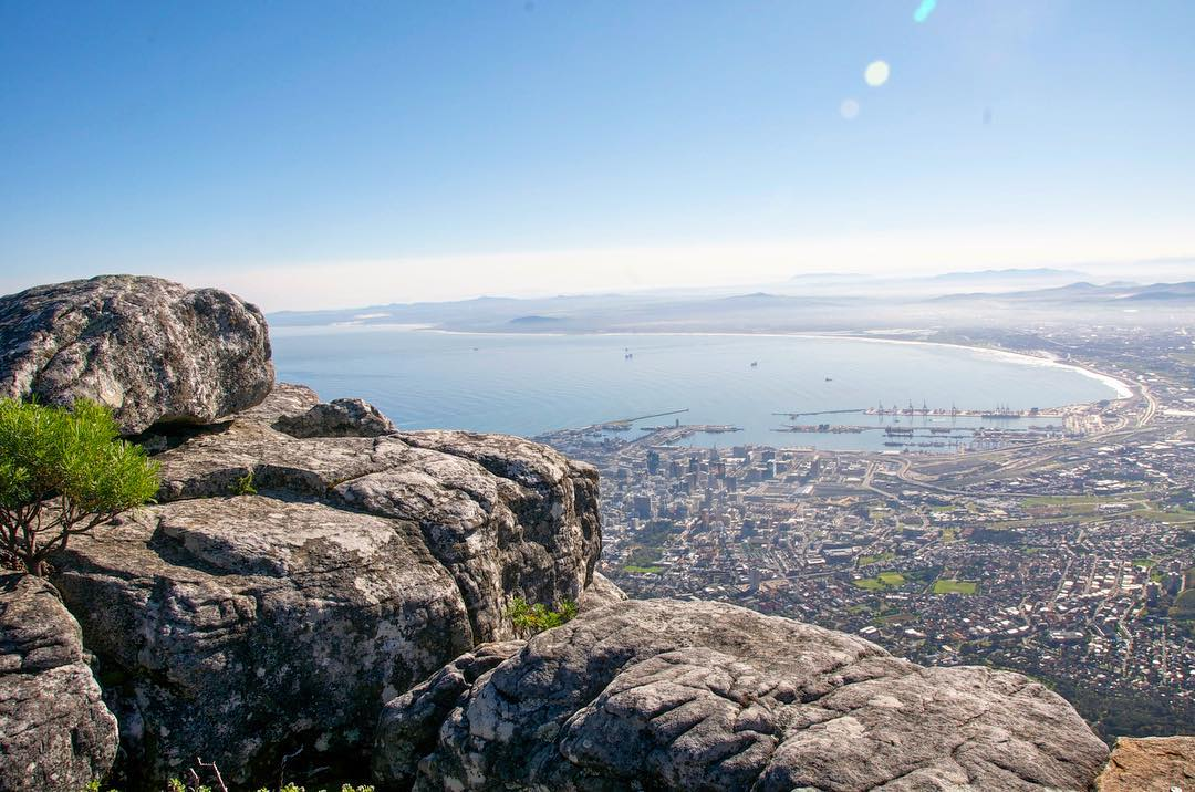 On Top Of The World At Table Mountain Cape Town South