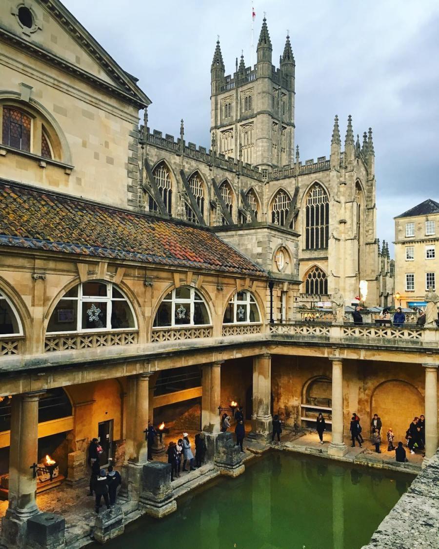 The Ancient Roman Baths of Bath, England - Gate 1 Travel Blog