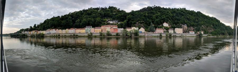 View from Cabin - Passau Panarama